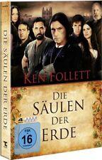 DIE SÄULEN DER ERDE (Ian McShane, Rufus Sewell) 4 DVDs NEU+OVP