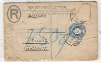 Transvaal KEVII 1904 Postal History Registered Cover To Utrecht X9509