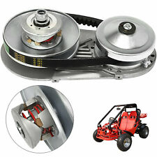 "GO KART TORQUE CONVERTER 1"" CLUTCH 12T+10T SMOOTH KIT 40/41CHAIN CVT COMBO"
