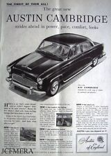Austin A50 'CAMBRIDGE' 1954 Car ADVERT #2 - Original Magazine Print AD