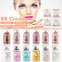 8mlX12Pcs/10Pcs BB Crème Glow Éclaircissant Blanchissant Serum Fondation Beauté