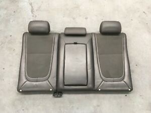 Jaguar XF X250 08-16 Upper Rear Seat Cushion Charcoal W/Cupholders Wrecking