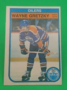 Wayne  Gretzky 1982-83 O-Pee-Chee OPC #106 Edmonton Oilers