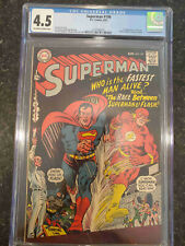 Superman #199 - CGC 4.5 - Never Pressed or Cleaned