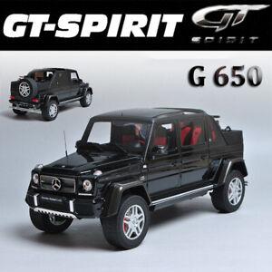 GT Spirit 1:18 Mercedes-Benz Maybach G650 LANDAULET Black 2017 Car Model GT721
