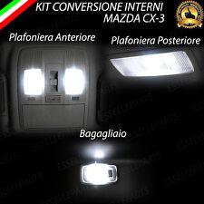 KIT FULL LED INTERNI MAZDA CX-3 CX3 CONVERSIONE COMPLETA 6000K