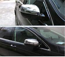 Spiegelkappen Abdeckungen ABS Chrom fuer Ford Edge 2015