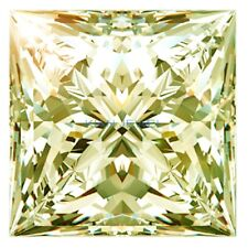 Loose Princess 7.00mm 1ct VVS1- Canary Yellow Brilliant Lab Diamond Solitaire