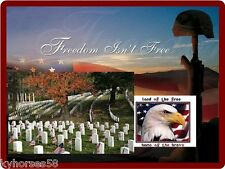 Veterans Day Freedom Isn't Free Refrigerator Magnet