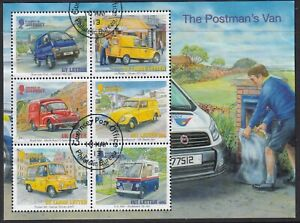 Guernsey 2013. Post Office Vehicles. MS1463  CTO