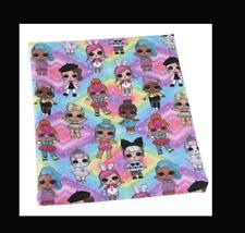 LOL Surprise Fabric 87cm x 1.45m (width) Poly Cotton
