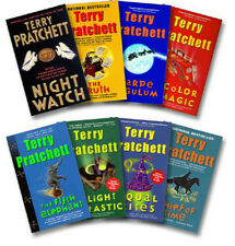 Discworld The Color of Magic + 7 more by Terry Pratchett (2013, 8 Paperbacks)