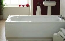 Bathroom White Acrylic 1700mm x 520mm Standard Front Side Panel only