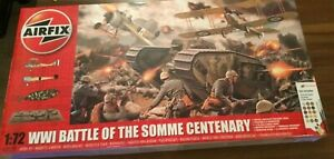 airfix ww1 battle of the Somme centenary