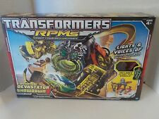 Transformers RPMs Devastator Showdown Track Set Complete with Box