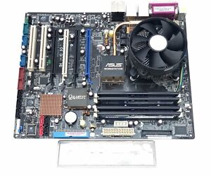 ASUS P5W64 WS Pro socket 775 Intel Motherboard + QUAD CORE CPU + 8GB corsair RAM