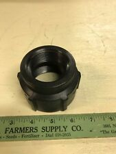 "BANJO RC200-150 THREADED REDUCING COUPLING 2"" X 1 1/2"" FPT POLYPROPYLENE SCH 80"