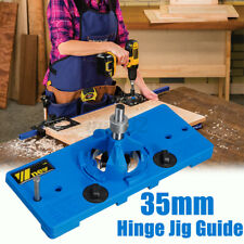35mm Concealed Hinge Jig Drill Guide Cabinet Door Hole Boring Locator