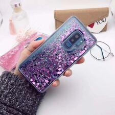 Liquid Glitter Silicone Case Cover For Samsung Galaxy Note 8 S9 S8 Plus S7 Edge