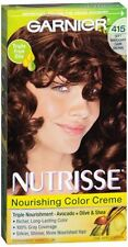 Nutrisse Haircolor - 415 Raspberry Truffle (Soft Mahogany Dark Brown) 1 Each