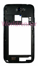 Carcasa Medio N Chasis Middle Frame Cover Bezel Back Samsung Galaxy Note 2 N7100