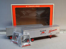 LIONEL SEABOARD 40' TRAILER 2 PACK O GAUGE train freight semi truck 6-84885 NEW