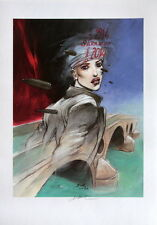"Affiche Enki BILAL ""Sarajevo""  signée 70 x 50 cm"