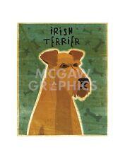 """Golden John W - Pembroke Welsh Corgi - Art Print Poster 14"""" x 11"""" (2432)"""