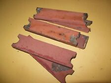 "6 piece 1 1/2 x 1/2 x 6"" WROUGHT IRON Bar 7.4 Lbs Blacksmith Anvil Knife Forge C"