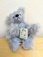 Hardy Bears  Effie  By June Kendall Blue Mohair  One of a Kind  Collector's Item