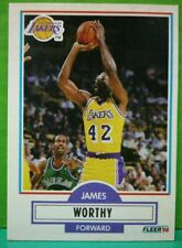 James Worthy card 90-91 Fleer #97