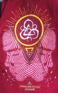 Coheed And Cambria Keywork Mens Red  Size Medium TShirt Tee BRAND NEW NO TAGS