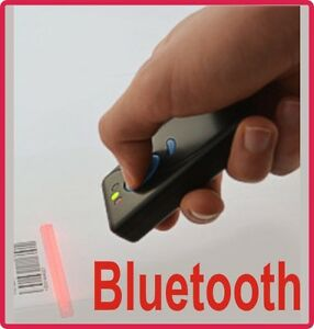 Funk-Bluetooth Barcode Scanner ALBASCA MK-500W3 mit Speicher hohe Funkreichweite