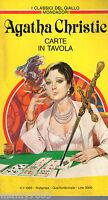 I CLASSICI DEL GIALLO MONDADORI=Agatha Christie= Carte in tavola=n°429/1983
