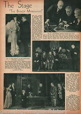 "The Stage Play - ""The Bishop Misbehaves"" - 1935"