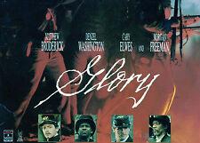 GLORY - Broderick, Washington, Elwes & Freeman - 2 x LASER DISC set - NEW - NTSC