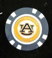 NCAA Auburn Tigers Poker Chip Ball Marker