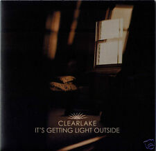 """CLEARLAKE It's Getting Light Outside UK vinyl 7"""" NEW/UNPLAYED Domino"""