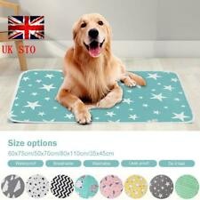 Waterproof Pet Bed Pad Dog Puppy Mat Cushion Pee Pads Washable Reusable Cotton❥