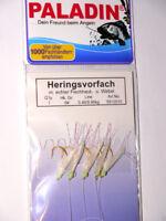 Heringspaternoster  GR 8 von DEGA 125 cm lang 5 Seitenarme Hering Heringskette