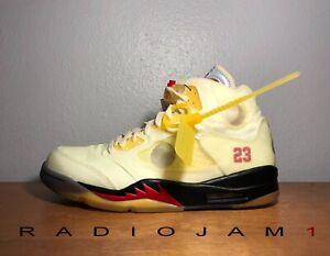 Nike Air Jordan 5 V Retro SP  Off-White Size Men's 11 New W/ RECEIPT