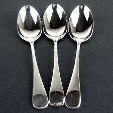 3 x Teaspoons Birks Regency Plate Canada Old English silverplate