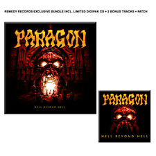 PARAGON - HELL BEYOND HELL HANDSIGNIERTE LIMITED DIGIPAK CD + 2 BONUS + PATCH