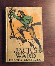 Jack's Ward 1912 Hardback Horatio Alger J PreOwnedBook.com BooksByDecade.com