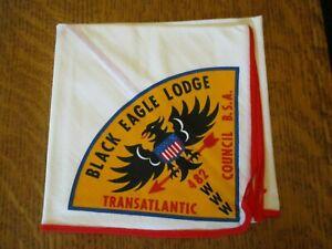 Boy Scout OA Black Eagle Lodge neckerchief Transatlantic Council, Germany
