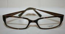 Oliver Peoples Alter-Ego Brown & Copper Demo Prescription Eyeglasses 362HRN