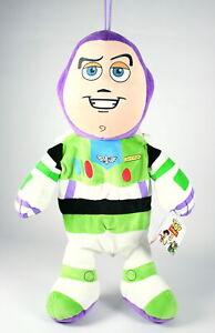 """TOY STORY 3 pyjama case BUZZ LIGHTYEAR 17"""" plush soft toy Pixar 2 Disney - NEW!"""
