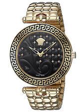 Versace Vanitas Ladies'  PVD Rose Gold Plated Watch - VK7250015