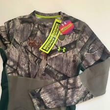 Under Armour Medium COLDGEAR Infrared Mossy Oak Scent Control Camo Baselayer Top