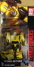 "Transformers Titan's Return Legend Class 4"" Bumblebee NEW"